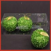 חבילת תפוחי גליטר ירוקים