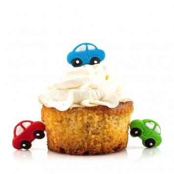 קישוטי עוגה - מכוניות