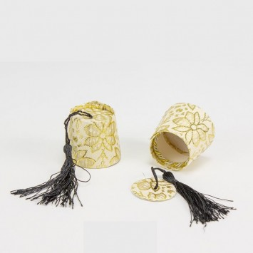 קופסה למילוי בסוכריות - תרבוש זהב