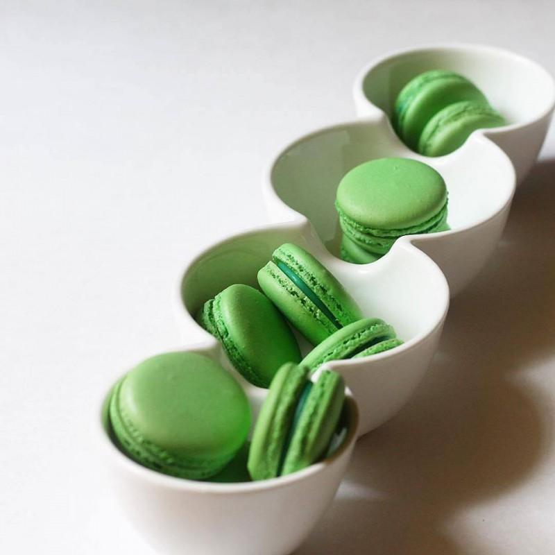 מקרונים ירוקים למילוי עצמי