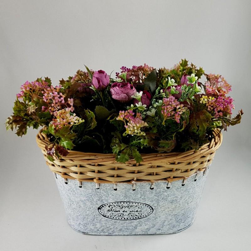 אדנית פרחים מאורכת ( להמחשה )
