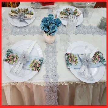 עיצןב שולחן חגיגי ל 10 סועדים