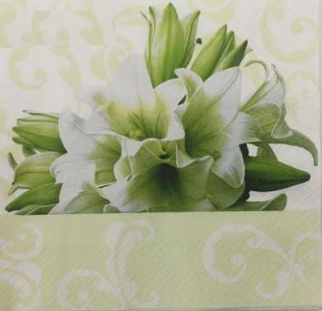 מפיות נייר איכותיות דגם שושנים