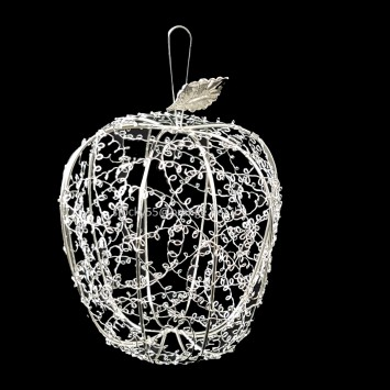 תפוח מתכת כסף