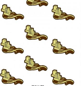 תבנית ליציקת שוקולד 11 שקעים