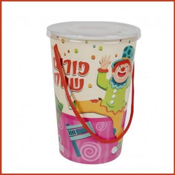 כוס עם מכסה  למשלוחי מנות