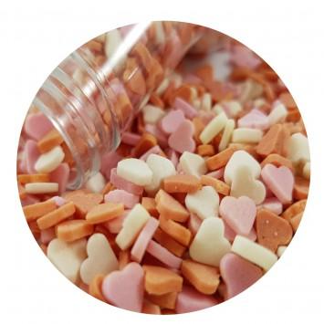סוכריות קונפטי דקות וטעימות  במשקל כ 100 גרם