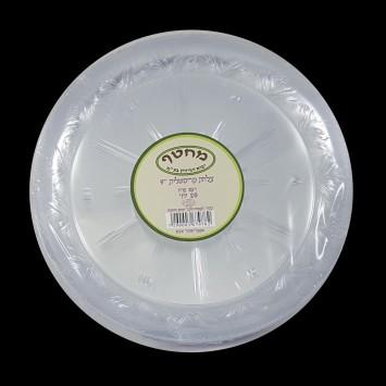 צלחות קריסטל חד פעמי