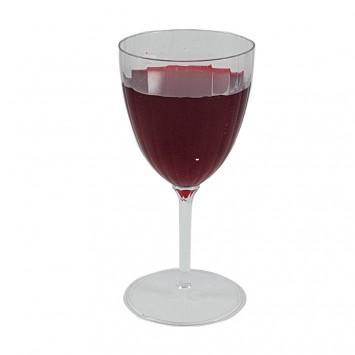 כוס יין עם רגל מחוברת