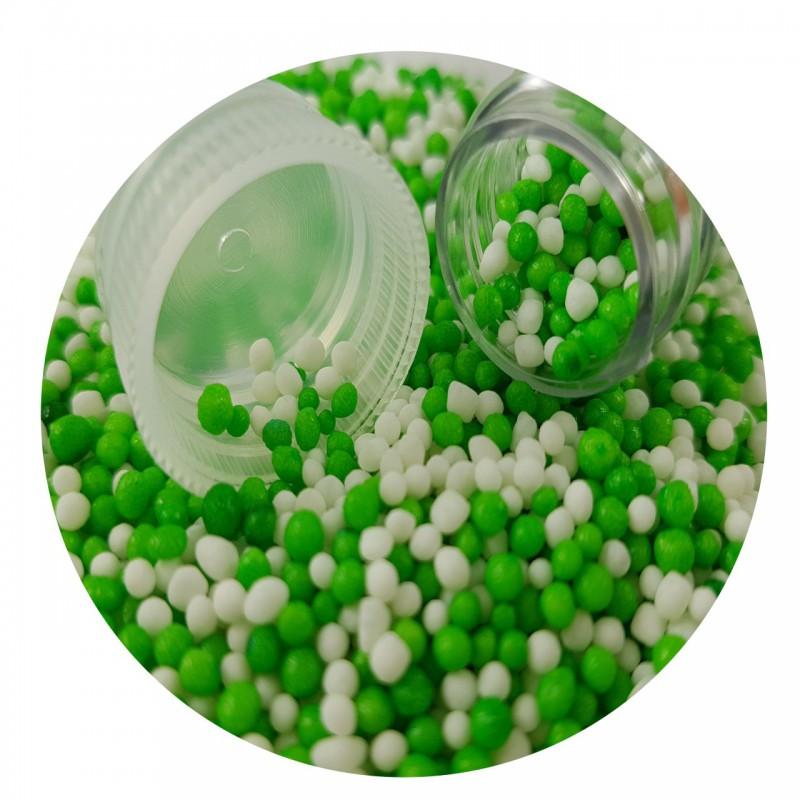סוכריות מזרה לבן ירוק