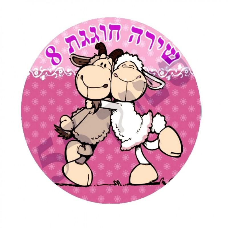 הכבשה ניקי - תמונה אכילה עגולה