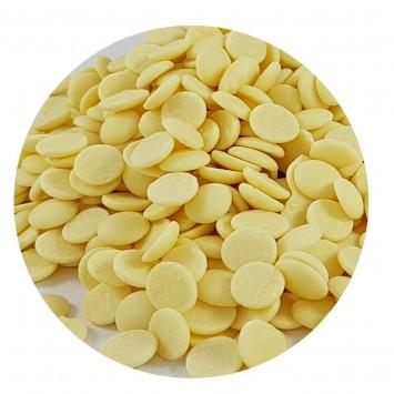שוקולד מטבעות לבן 29% מוצקי קקאו - חברת לובקה