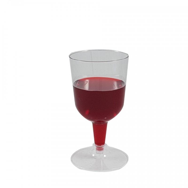 חבילת כוסות יין על רגל  מסדרת קריסטל