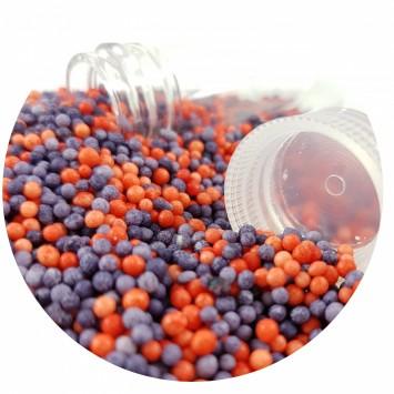 סוכריות קטנטנות ועדינות בשילוב צבעים משגע של כחול ואדום