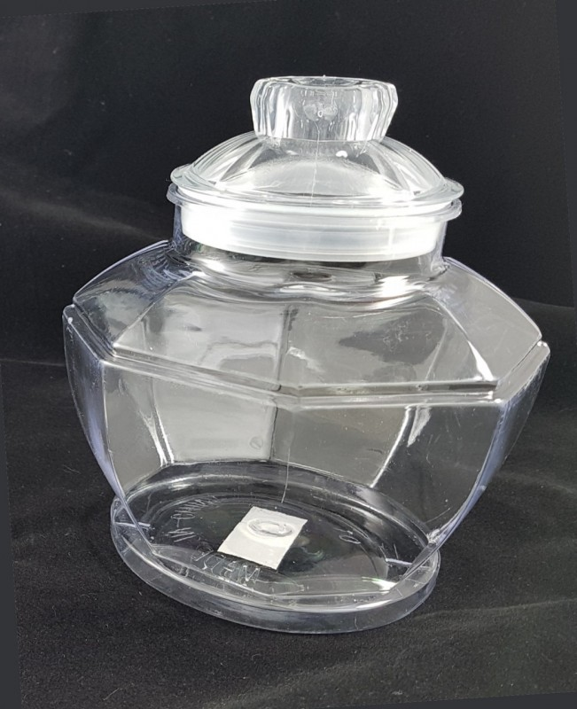 """קופסת פלסטיק גדולה, 17 ס""""מ (ימין)"""