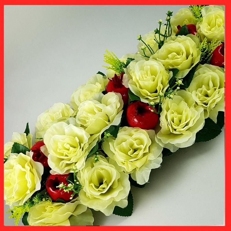 סידור פרחים מלבני לראש השנה