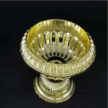 קערה גדולה למימונה -דגם גביע רומי זהב