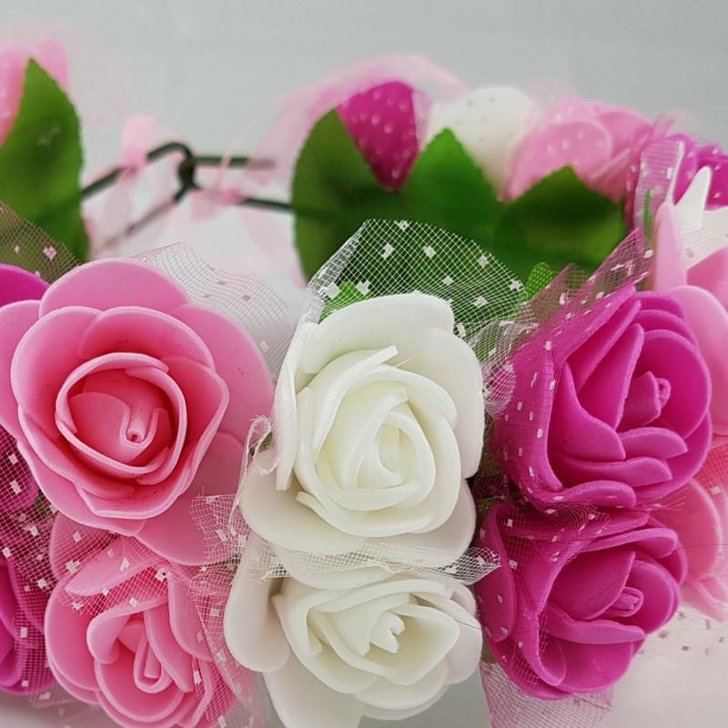 זר פרחים מהודר מפרחי סול