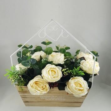 מתלה פרחים לכניסה