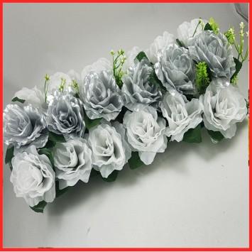 סידור פרחים לשולחן