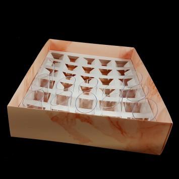פתרון מושלם לאחסון ומשלוח  30 קינוחי כוסות