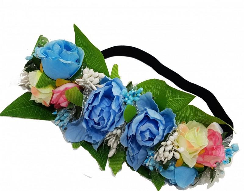 כתר פרחים ססגוני