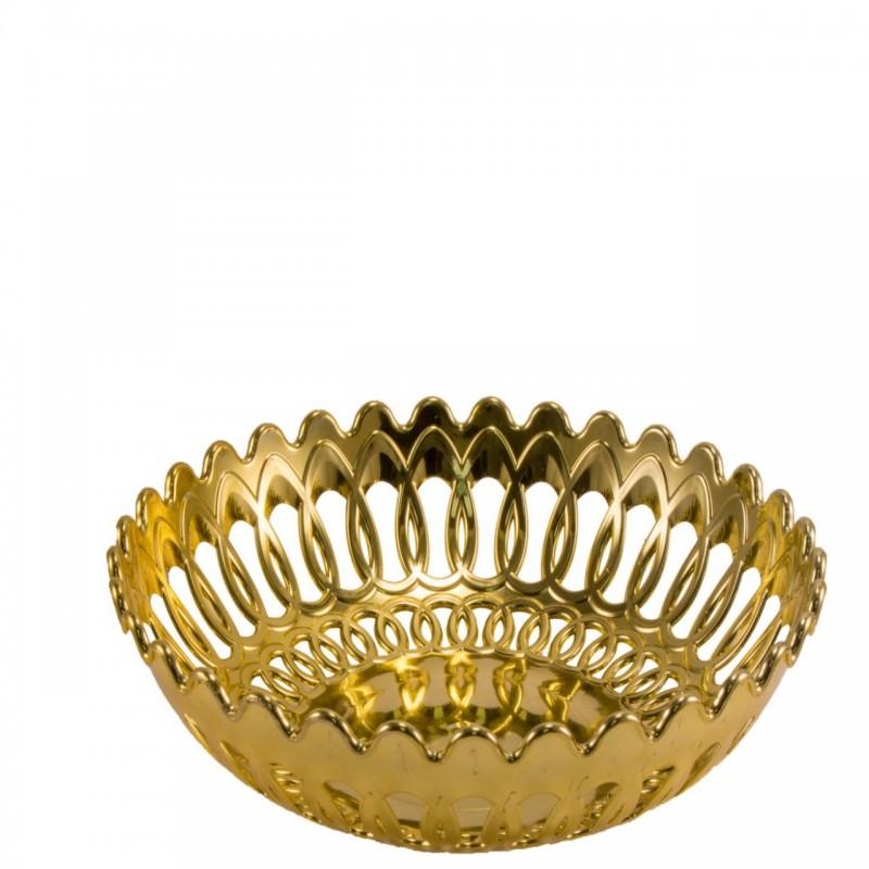 צלחת זהב גדולה L