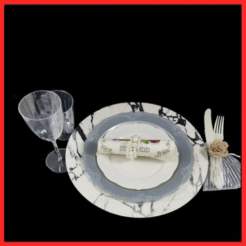 עיצוב מהודר לשולחן ליל הסדר