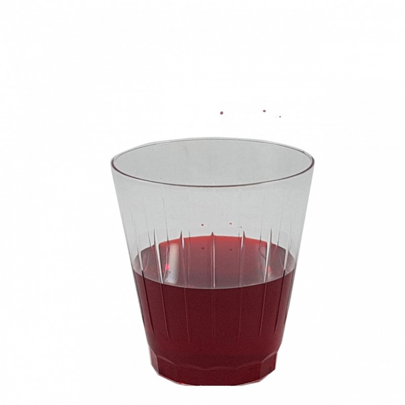 """חבילת כוסות שתיה פרח  חד פעמיות מסדרת """"קריסטל """""""